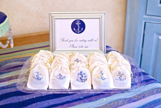 baby shower party favors nautical