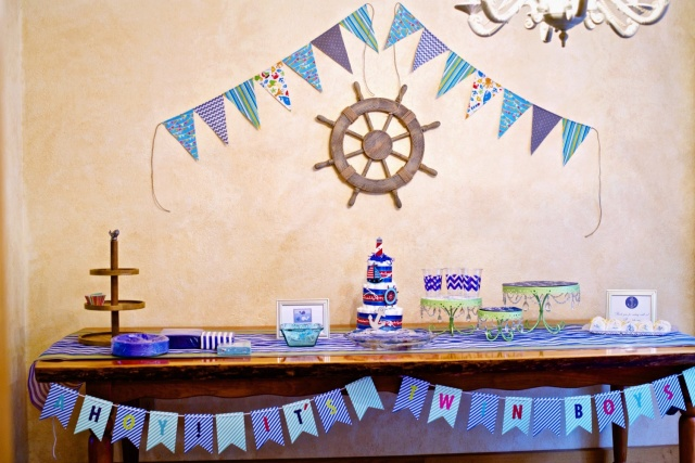 baby shower decorations nautical
