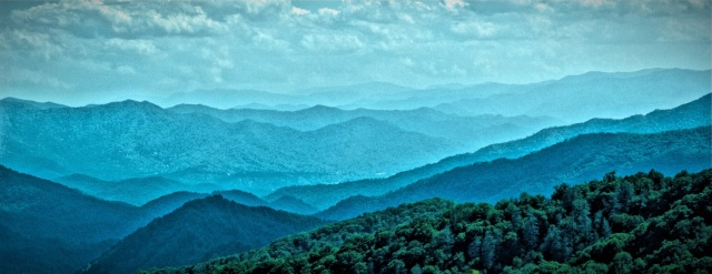 Blue Ridge Mountains near Asheville